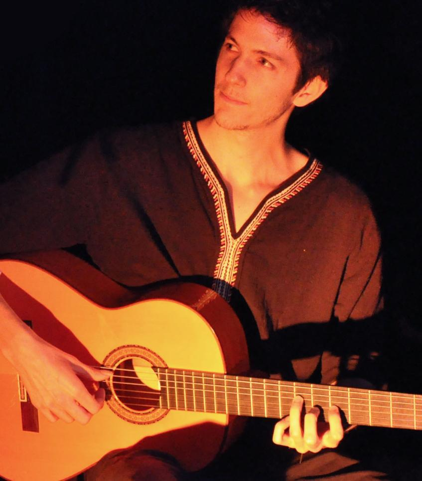quentin nedelcu guitariste lyonnais de flamenco